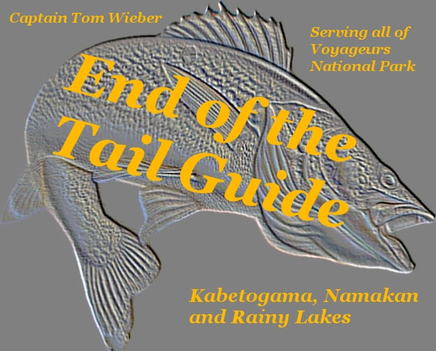 End of the Tail Guide Service, Voyageurs National Park Fishing Guide