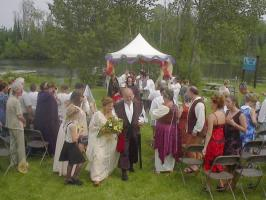 Medieval destination wedding