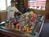 Our famous Duck Race on the the 4th of July